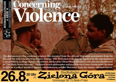 Concerning Violence documentary film