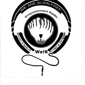 Logo of Wearebornfree Empowerment Radio We!R