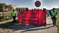 Flüchtling Protest March 2016 Münich Nürnberg_ Regensburg