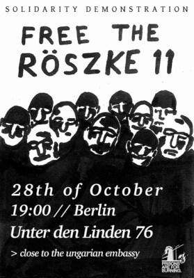 Solidarity Demonstration Free Röszke 11