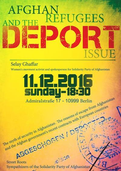 Afghan Refugees Deport Issue