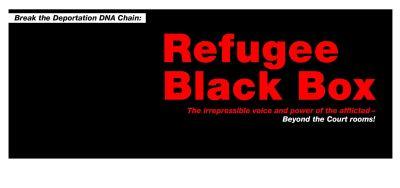 """Break the Deportation DNA Chain: """"Refugee Black Box – die ununterdrückbare Stimme und Kraft der Gequälten"""""""