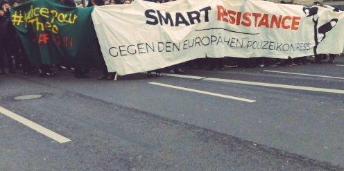 Smartresistance gegen den europäischen Polizeikongress