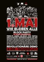 Berlin demo 1.Mai 2017