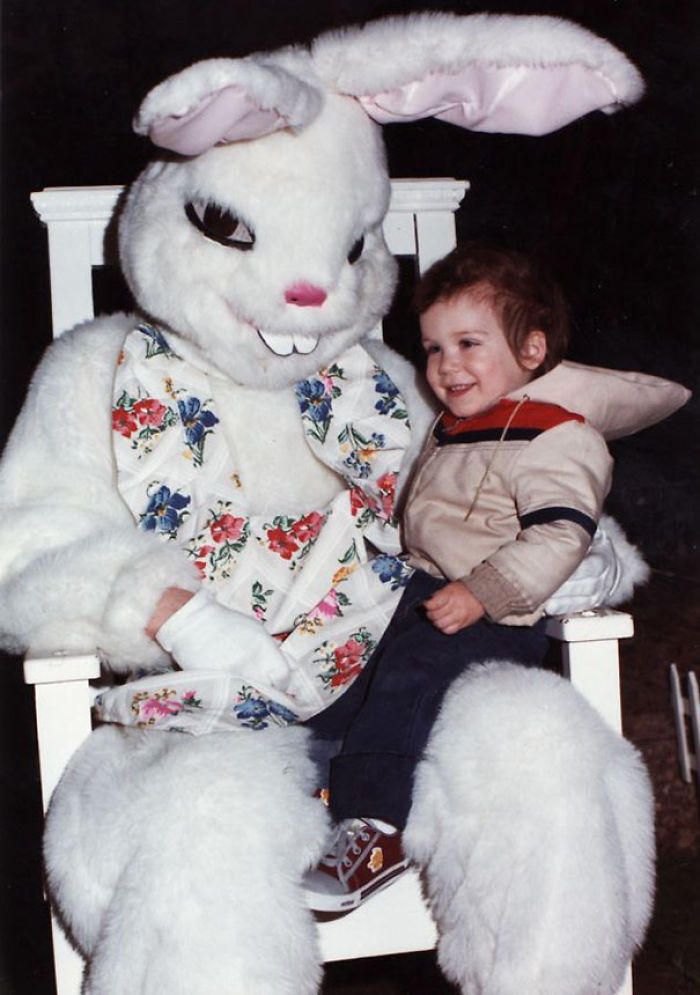 This Bunny Is Totally Laughing Evil Laugh on The Inside