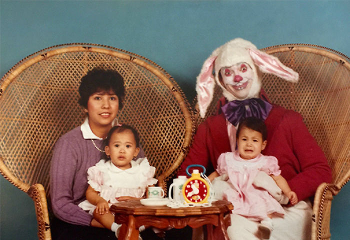 The Easter Bunny Was Scarier In The 80s
