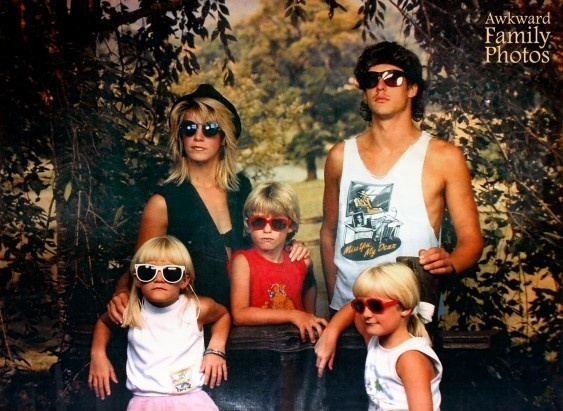 The coolest family in the neighbourhood.
