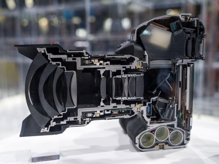 The framework of the Nikon D5 Camera.
