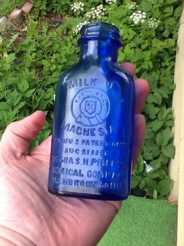 This antique medicine bottle dates all the way back to 1906.