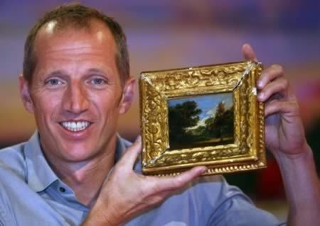 Robin Darvell bought a postcard-sized painting that was bought as part of a job lot for $46 (£30) at an auction and left hidden away in a drawer for a decade has been identified as a work by John Constable worth more than $390,000 (£250,000)