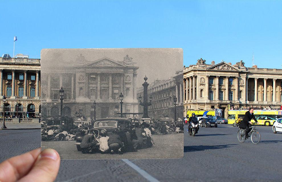 Place de la Concorde in the 1940s.