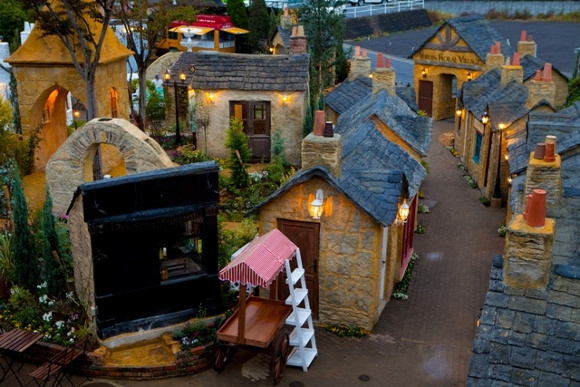 Would you love to put reality aside for an afternoon and visit this enchanted village?
