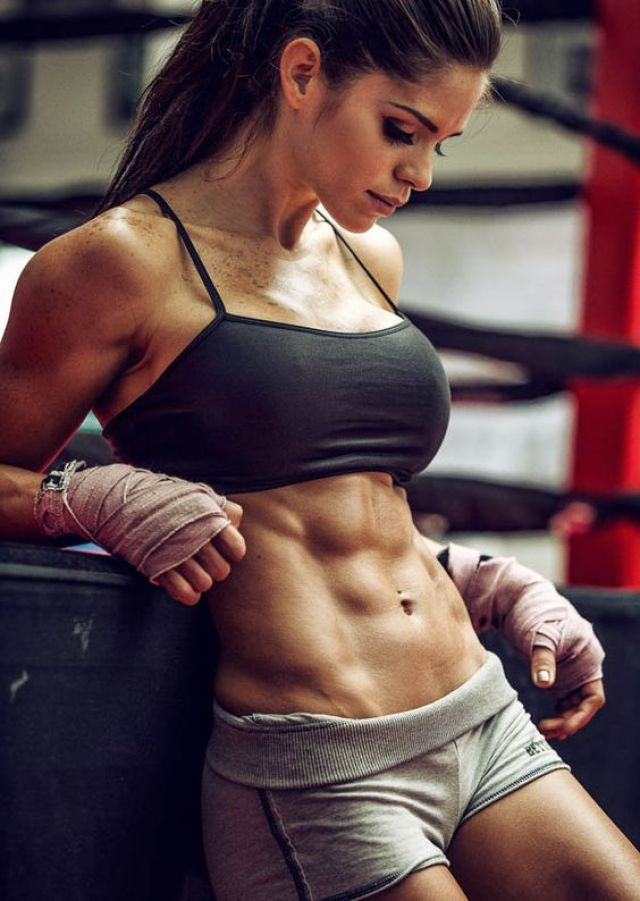 get rid of back fat boxing