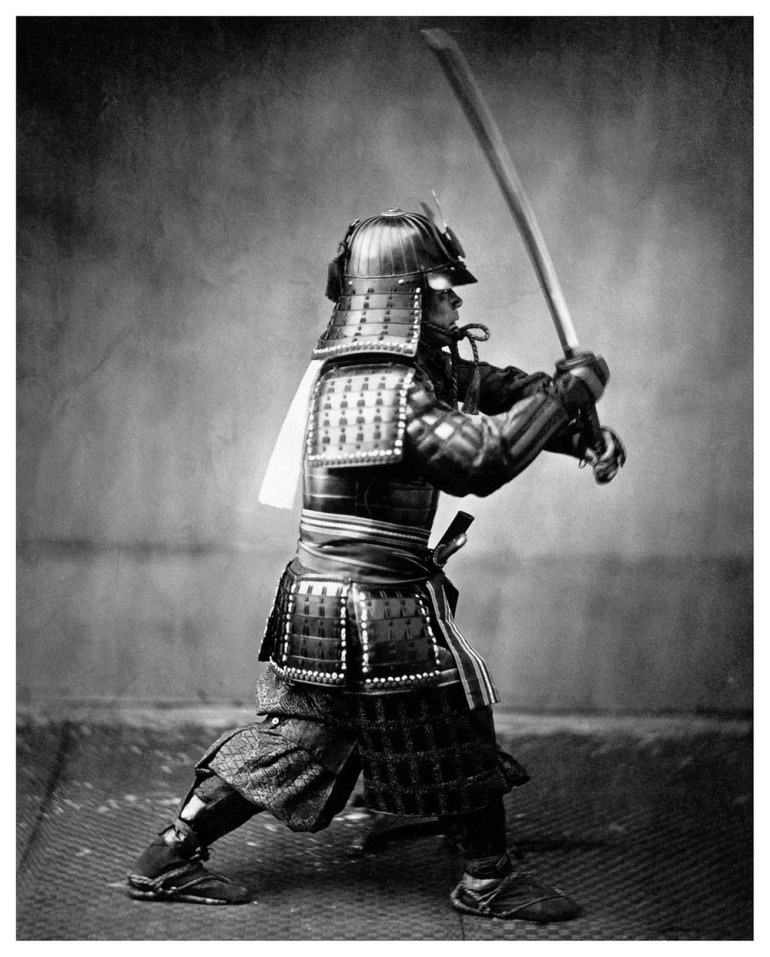 Samurai swords or katanas were the most common and popular weapons used by these warriors.