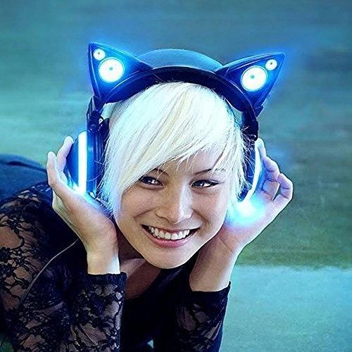 These cat ear headphones will make everyone jealous.