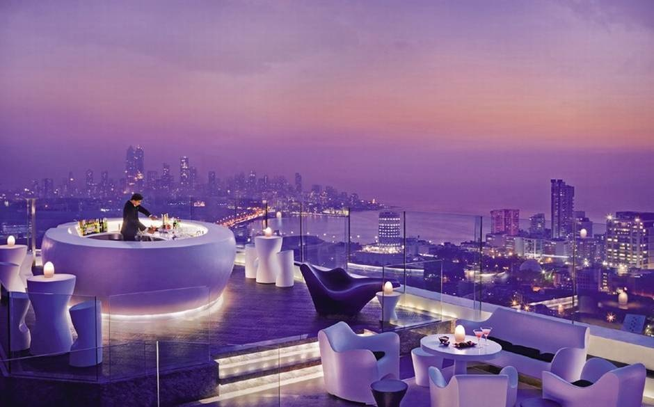 The Aer takes up the whole rooftop in the Four Seasons in Mumbai, India.