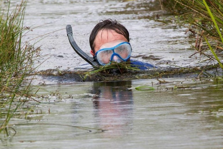 In Wales, there's a yearly competition called the World Bog Snorkelling Championship -- something tells us the views are not great, though.