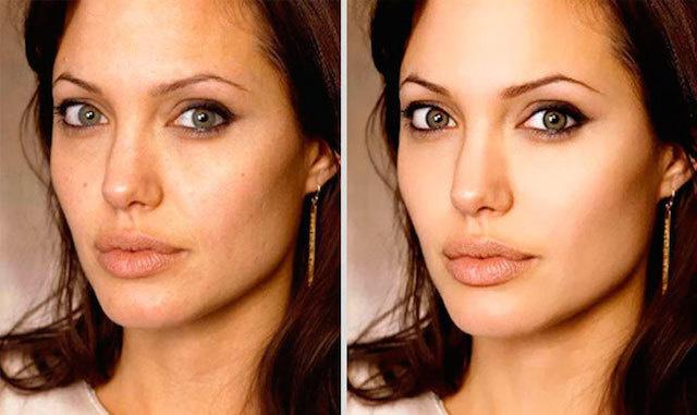 Angelina Jolie is stunning.