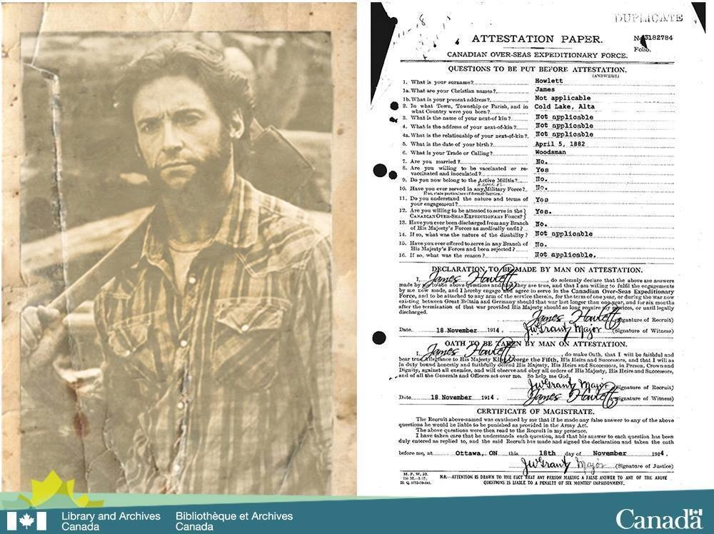 """The Library and Archives Canada acquired the declassified records of Canadian super soldier James """"Logan"""" Howlett aka Wolverine."""