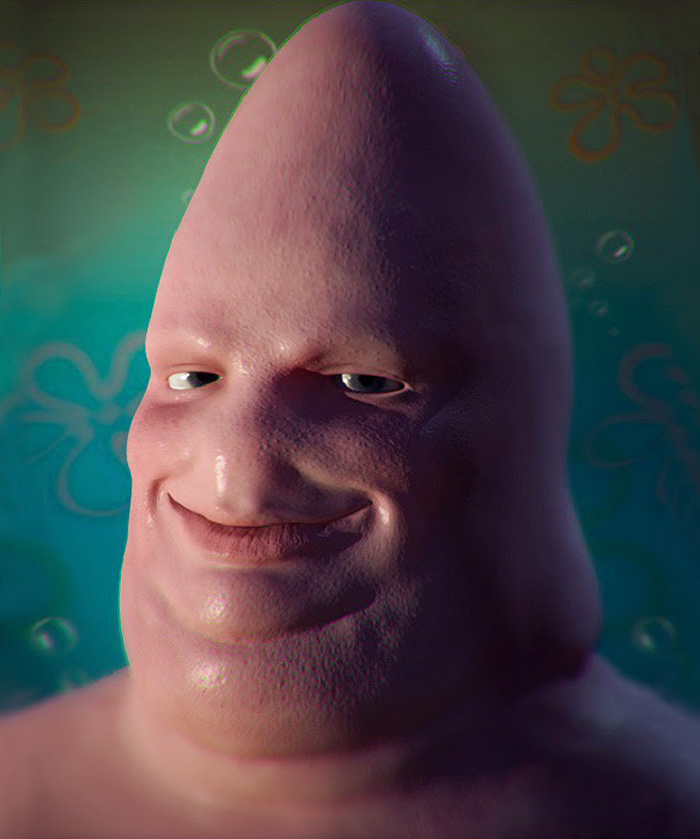 Patrick Star From Spongebob Squarepants