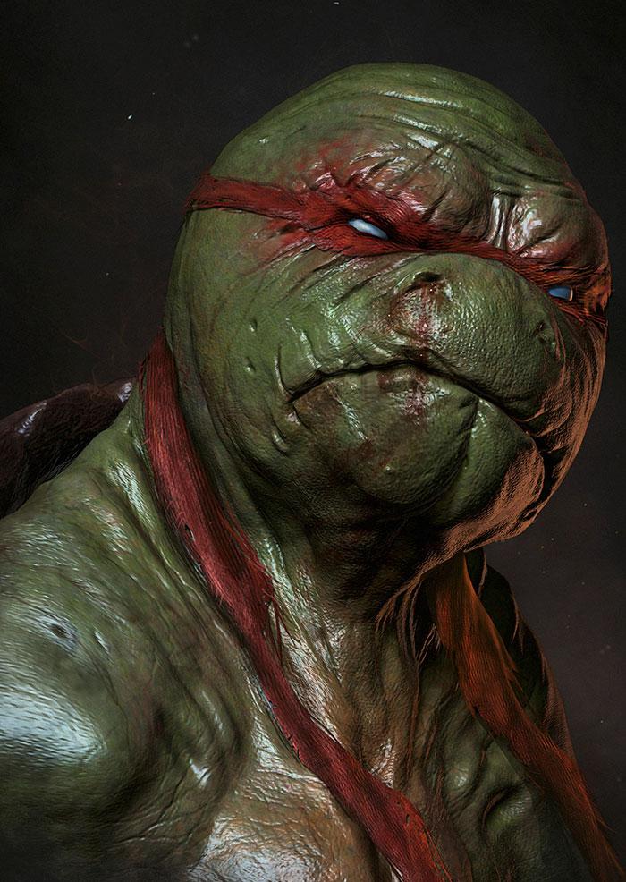 Raphael From Teenage Mutant Ninja Turtles
