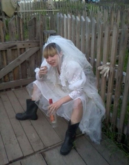 Doesn't every bride do this?