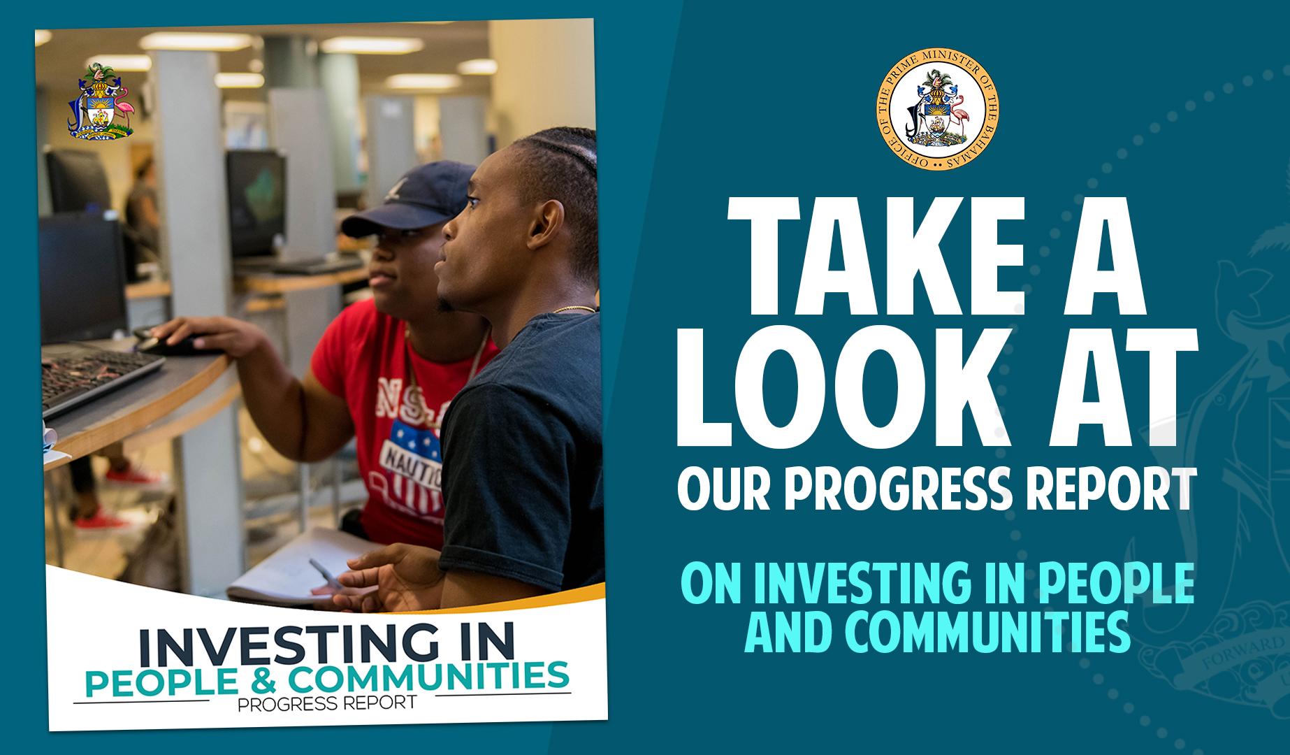 Government Progress Report highlights accomplishments
