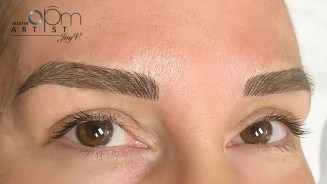 OPM Organic Microblading After Care Result