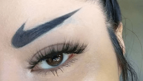 Eyebrow Trend - NIKE Brows