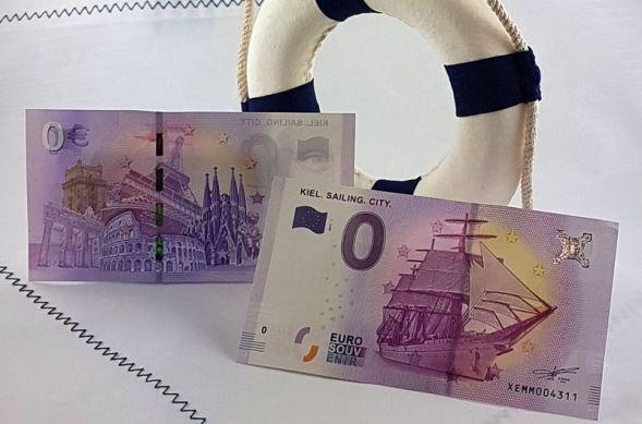 Nota de Zero Euros