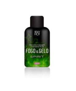 Óleo para massagem Fogo e Gelo beijável - Spirit ( Esquenta Esfria) - 30ml