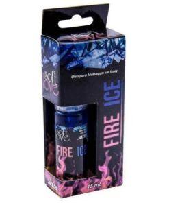 Excitante Fire & Ice Black Ice Jatos 15ml Unissex - Soft Love