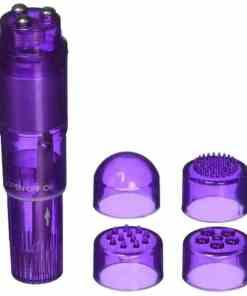 Vibrador Pocket Pleasure - 4 ponteiras