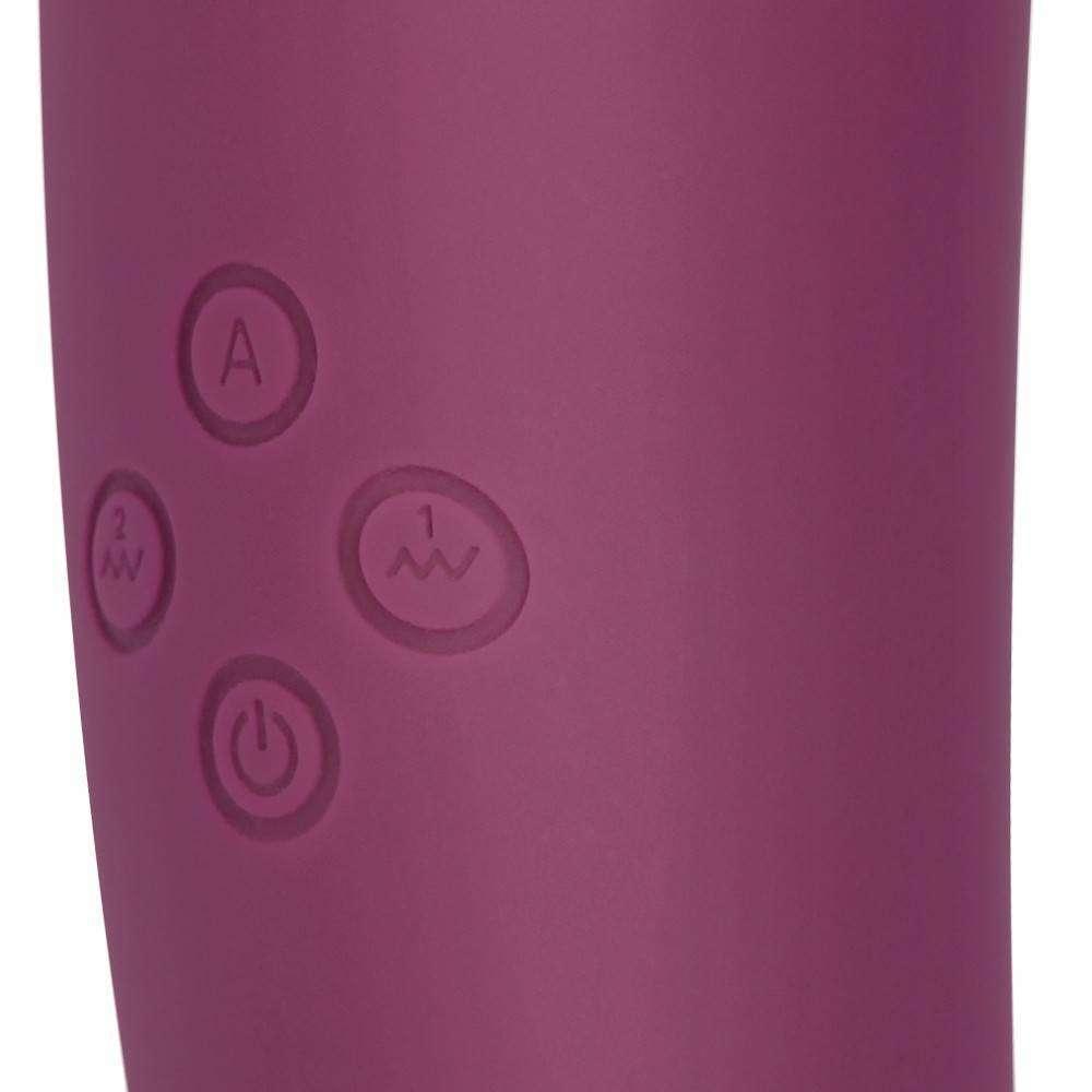 Estimulador com Sucção e Vibração e 10 Modos de Vibração e 5 Modos de Sucção