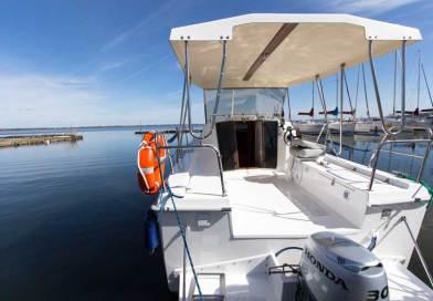 Weekend 820 łódź motorowa bez patentu na Mazurach!
