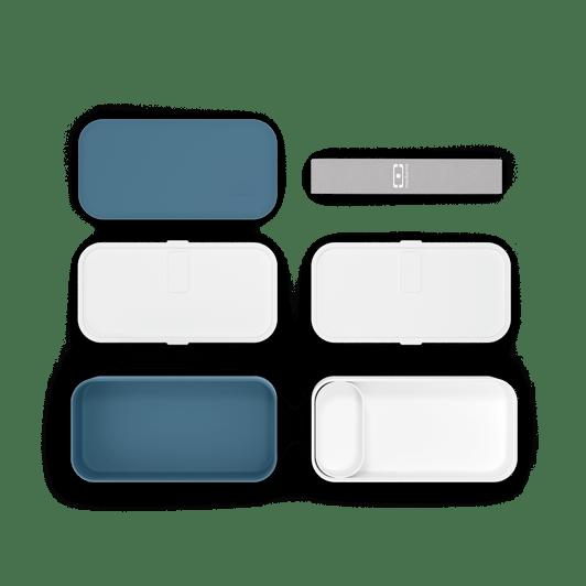monbento - bleu denim lunch box