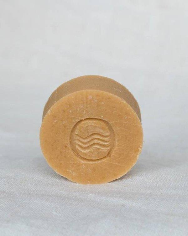 savon-solide-rond-symphorine- vrac artisanal