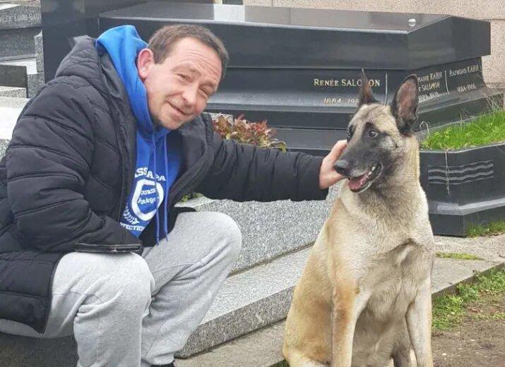 Le formidable sauvetage de la mystérieuse chienne du cimetière du Père-Lachaise