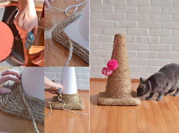 fabrication griffoir chaton