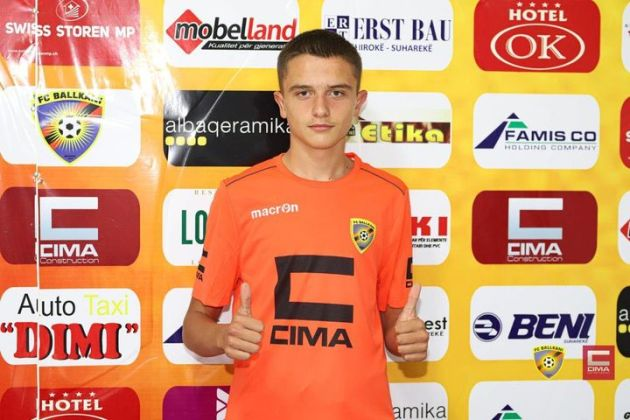 Benjamin Zyberi nga Opoja talent i rrallë i futbollit
