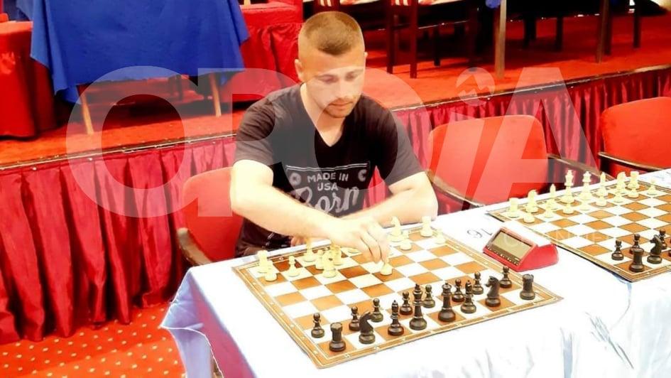 Naser Tafili nga Opoja triumfues në shumë gara të shahut.