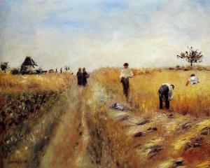 The Harvesters - Pierre-Auguste Renoir 1873
