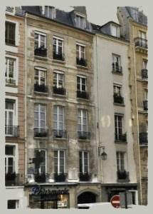 Na rue de Seine pod numerem 63 w 5. dzielnicy umieszczona jest tablica pamiątkowa przypominająca, że w tym właśnie domu poeta pisał Pana Tadeusza.