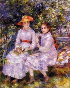 Córki Paula Durand-Ruela  - Auguste Renoir - 1882