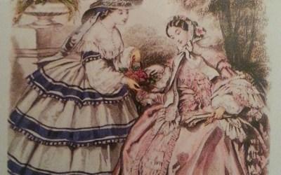 Ubiór kobiet w Paryżu 1850 – 1868