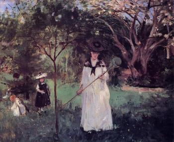Polowanie na motyle Berthe Morisot