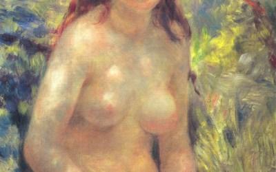 """Tors, efekt słoneczny"" 1875 – Pierre Auguste Renoir"
