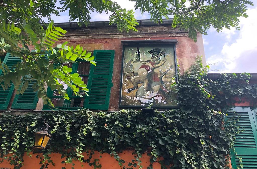 """Lapin-Agile"" – kabaret na Montmartre"