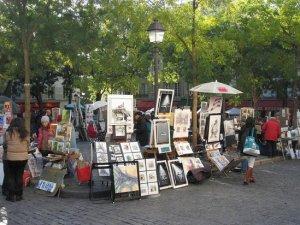 Plac du Tertre dziś