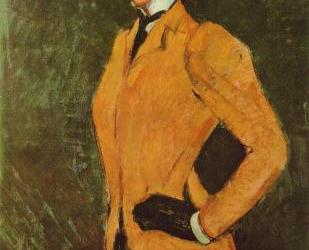 """Amazonka"" 1909 – Amedeo Modigliani"